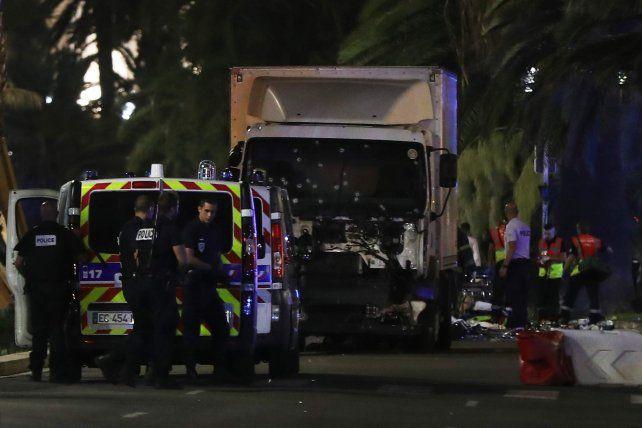 Las primeras imágenes del atentado en Niza