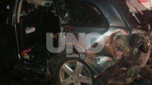 Murieron dos personas en un choque múltiple en la autopista a la altura de Maciel
