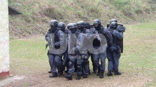 Jornada instructiva y de destrezas del Grupo de Operaciones Especiales (GOE) de la Policía de Santa Fe