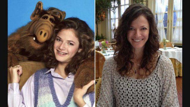 Mirá como luce hoy la hija mayor de la serie Alf a sus 45 años