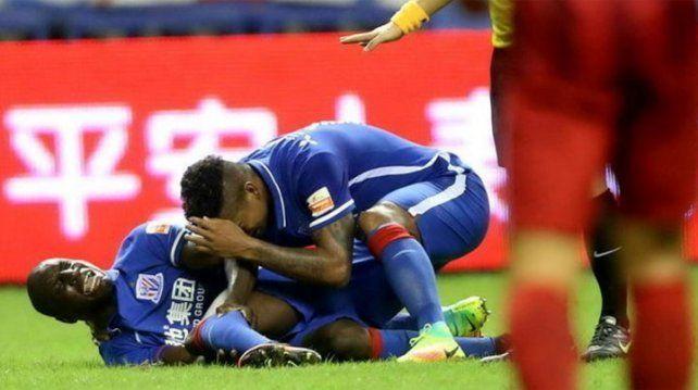La grave y escalofriante fractura de Demba Ba