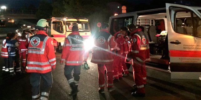 Alemania: un hombre con un hacha hiere a 21 personas en un tren