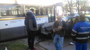 El tren volvió a protagonizar un accidente. La foto fue enviada por un lector al Whatsapp de Diario UNO (3426984114)