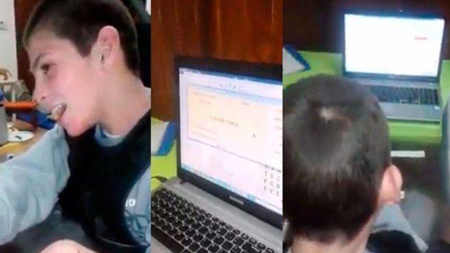 Robaron a un niño con discapacidad motriz la PC y Tablet con la que se comunica
