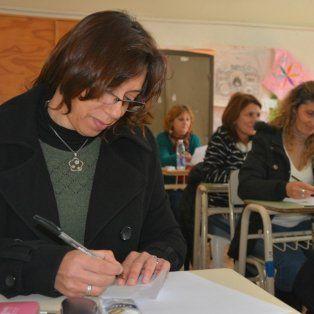 mas de 5200 docentes rindieron el examen para acceder a un cargo directivo