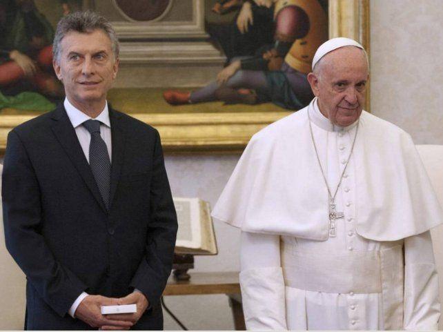 El Papa francisco recibirá al presidente Macri en el Día de la Lealtad Peronista