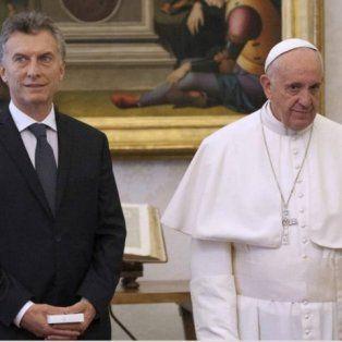 el papa francisco recibira al presidente macri en el dia de la lealtad peronista