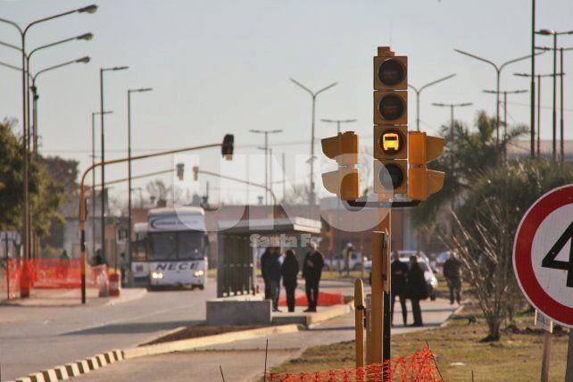 Metrofe en Blas Parera: ya se instalaron las 30 paradas de colectivos