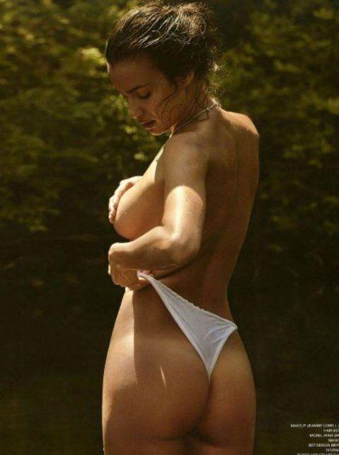 Irina Shayk revolucionó las redes sociales con una foto tomando un poco de sol