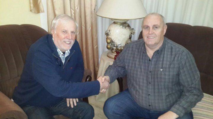 La foto esperada: se juntaron Vignatti y Spahn