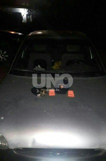 Recuperado. El auto fue secuestrado por los policías que luego se comunicaron con la dueña y le informaron lo acontecido.