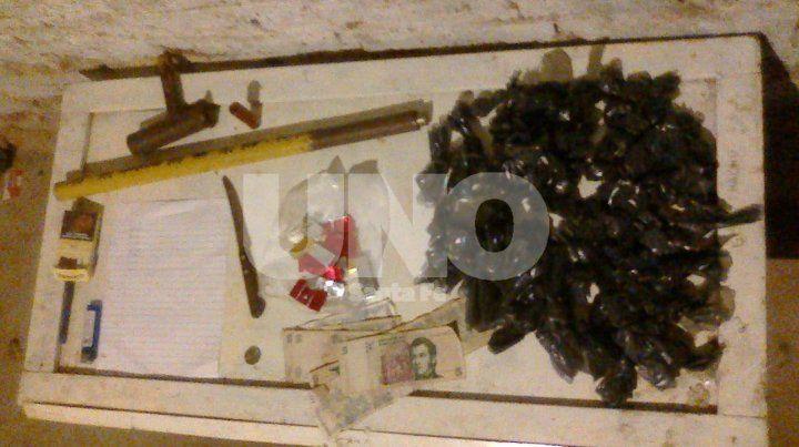 San José del Rincón: aprehendieron a violento delincuente y le secuestraron dos armas de fuego