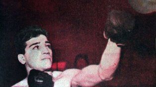 Abel Ricardo Laudonio. El porteño se alzó con el bronce en liviano en Roma 1960.
