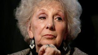 Estela de Carlotto dijo que no es amiga de Cristina y admira a Mirtha Legrand