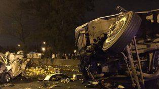 Tres personas fallecidas en un tremendo accidente en Rosario