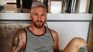 El peluquero de Messi contó cómo estaba de ánimo y cuánto le cobró por el platinado