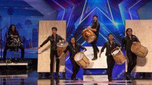 El grupo Malevo llegó a la semifinal de Americas Got Talent