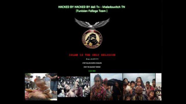 Hackearon la web de la Municipalidad de Resistencia con mensajes del fundamentalismo islámico