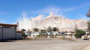 Fuerte sismo en el norte de Chile
