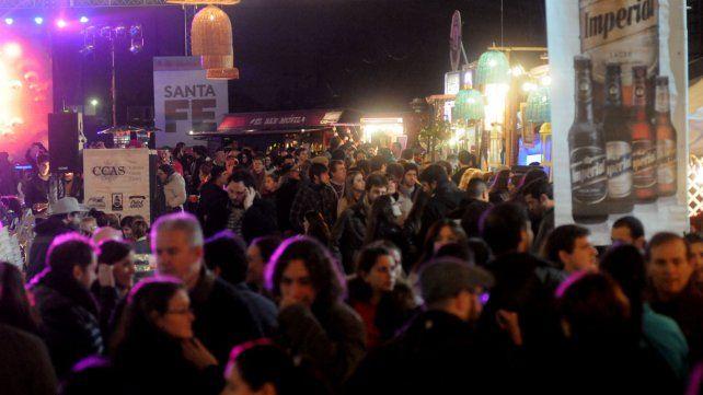 Más de 16 mil personas concurrieron a La Fiesta de la Cerveza que se realizó en la Belgrano.
