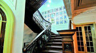 La escalera de los Constituyentes es un patrimonio más que preciado. Fotos: Manuel Testi
