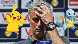 Mourinho prohibió jugar al Pokémon Go a los jugadores del Manchester