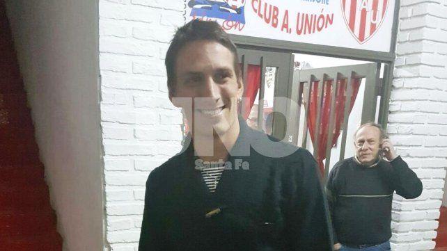 Anselmo acordó su llegada a Unión y hoy firmará su contrato