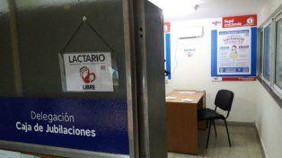 La Caja de Jubilaciones de la provincia tiene un espacio para la lactancia materna