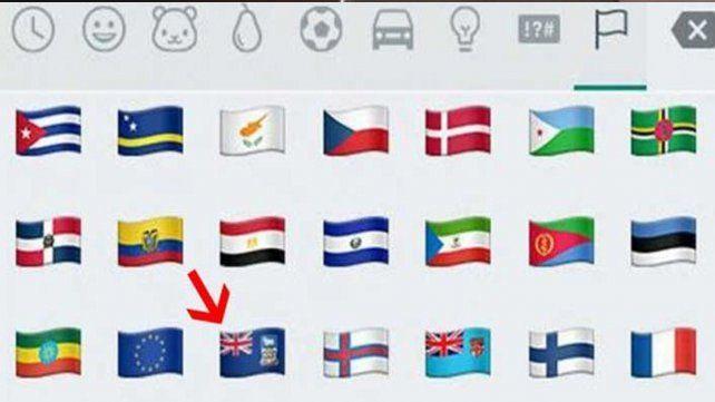 Un nuevo emoji de WhatsApp que está causando fuerte polémica en Argentina