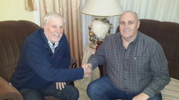 José Vignatti y Luis Spahn se juntaron en la casa del titular tatengue pero tampoco hubo acuerdo.