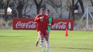 El oriundo de San Jerónimo Norte será el tercer delantero, detrás de Federico Anselmo y Danilo Carando.