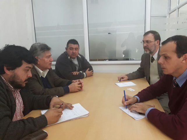 Reunión. Carlos Sánchez