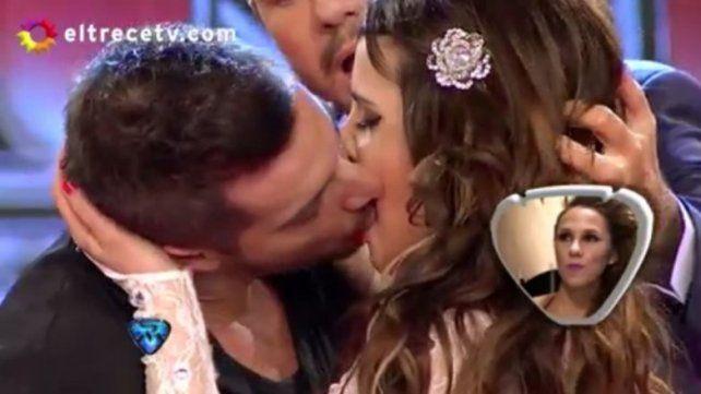 ¡Francisco Delgado se le declaró a Charlotte Caniggia y terminaron a los besos!