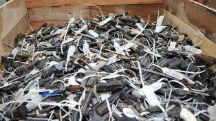 Seguridad de la provincia entrega 2.950 armas para su destrucción a la ANMAC