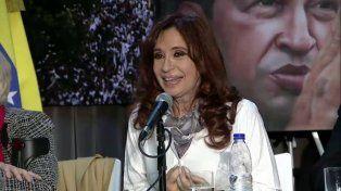 Cristina en el homenaje a Chávez: Estamos en momentos de desafíos
