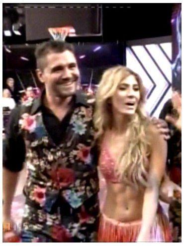 El Bichi Fuertes bailó en Showmatch y sacó el puntaje más alto