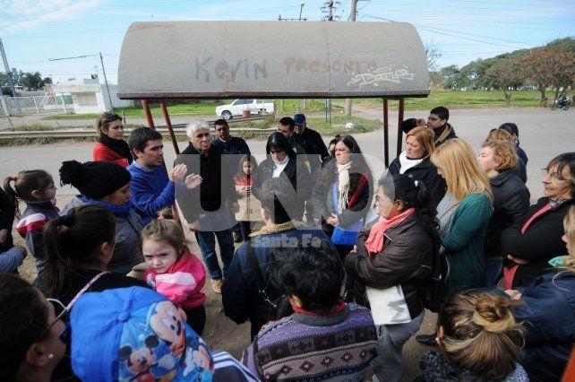 Los vecinos de Aristóbulo del Valle reclamaron por los accidentes en esa avenida