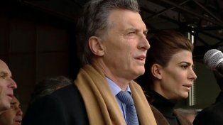 Macri destacó la importancia que tiene el campo para el país en la apertura de la exposición rural de Palermo