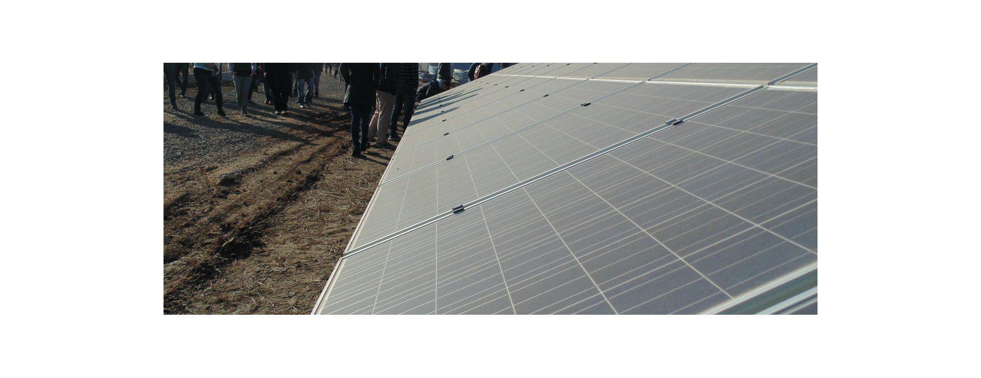 Recorrida por el Parque Fotovoltaico de la provincia