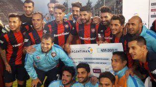 Copa Argentina: San Lorenzo venció a Unión de Sunchales