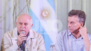 Desconfianza. La que manifestó Macri sobre Lifschitz y que Peña se encargó de ratificar.