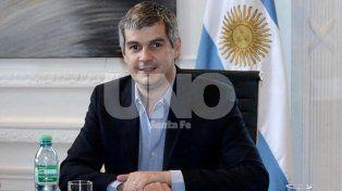 En la provincia. Peña quiere que avance la conformación de Cambiemos en Santa Fe.