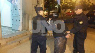 Detuvieron a un violento tiratiros en Santa Rosa de Lima