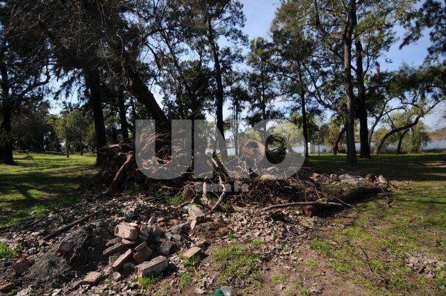 Preocupa a los vecinos el estado de deterioro del Parque del Sur