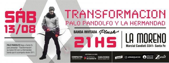 Palo Pandolfo presenta en Santa Fe su nuevo CD