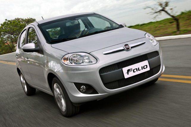 Fiat Palio. Fue el modelo de auto con más patentamientos en julio a nivel nacional: 2.802.