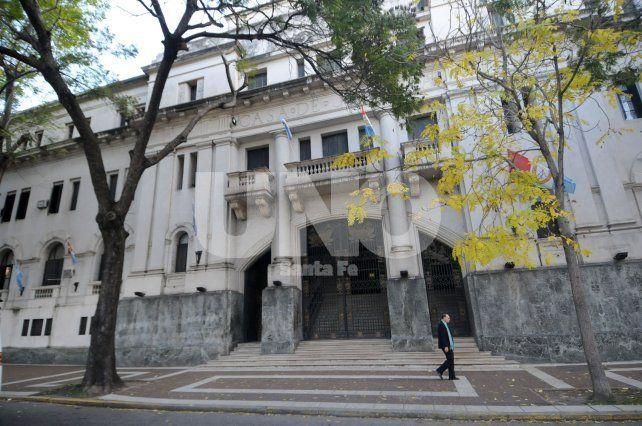 Contó su historia. El acusado declaró en la Sala Nº 2 del subsuelo de los tribunales santafesinos ante el juez Héctor Candioti.