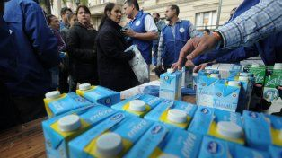 Los tamberos regalarán leche en Rafaela, en reclamo de mejoras