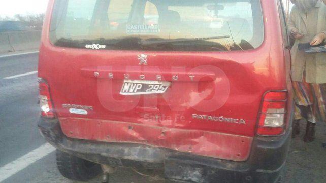 Accidente en cadena involucró cerca de 10 automóviles sobre la ruta nº168