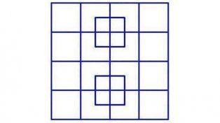 La imagen de los cuadrados que enloquece a internet